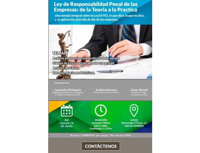 Ley de Responsabilidad Penal de las Empresas: de la Teoría a la Práctica
