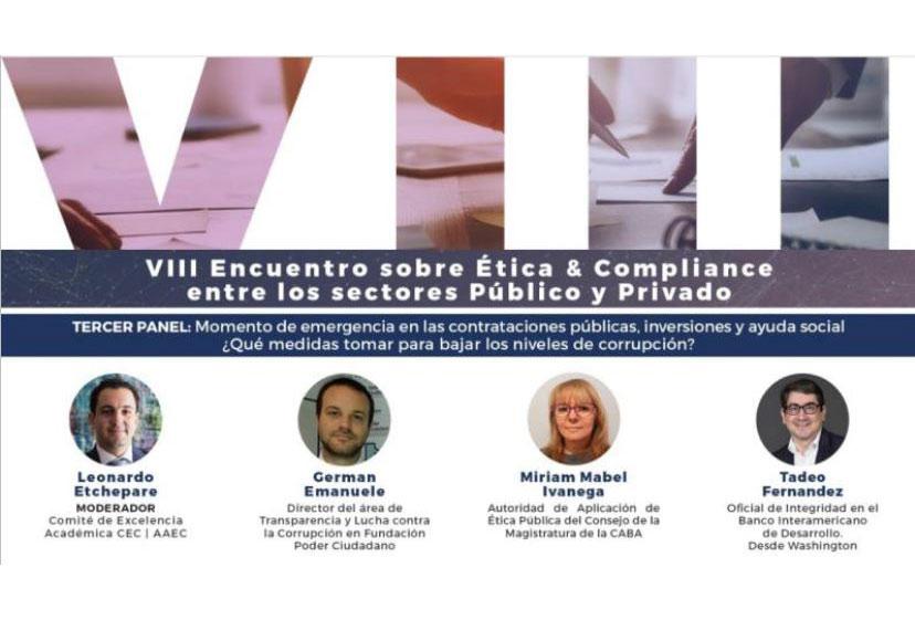 VIII Encuentro sobre Ética y Compliance entre los sectores Público y Privado